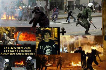 Alexandros Grigoropoulos - Non au terrorisme d'Etat