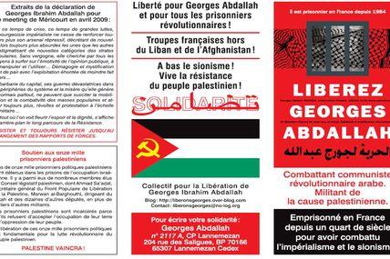 Georges Abdallah - Plaquette d'information 2009