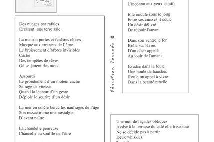 """""""Silence qui rêve"""" recueil de poésies de Christian Tarrade"""