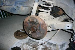 Démontage freins AR - 2