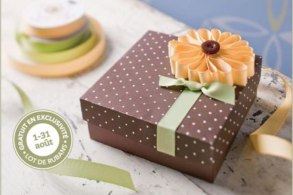 promo d' Aout chez Stampin' UP