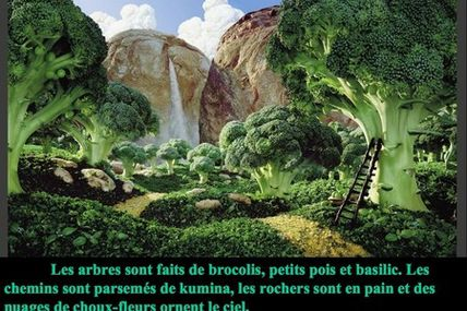 Tableau alimentaire...