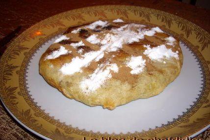Pastilla au Pigeon, comme servie par Mériem