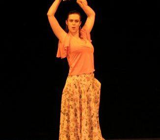 stage sévillane, flamenco et compas y palmas avec Albane Mathieu 8 et 9 mars 2008 à Besançon