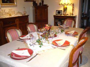 La table d'Automne des Filles...