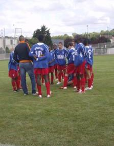 Match amical 15 ANS LE BOURGET