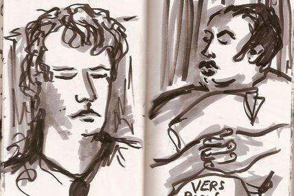 De charmants inconnus endormis dans le train !