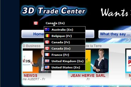 3D TRADE CENTER now fully supports foreign languages
