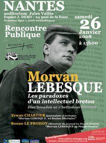Morvan Lebesque, une plume sociale