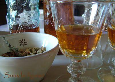 Recette du Vin d'orange de Christiane...