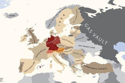 L'Europe vue par les Allemands (attention humour !!)
