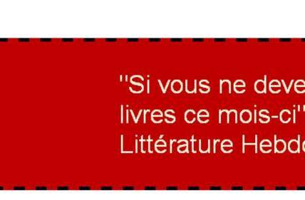 # Bonus du vendredi : le générateur de bandeau littéraire Babelio