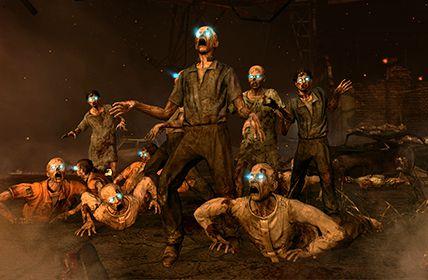 Black Ops 2 - Zombie Arme Secrète,activation courant,Couteau de Chasse