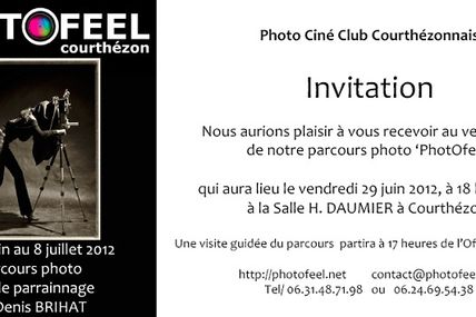 Coup de projecteur sur l'expo du club photo de Courthezon