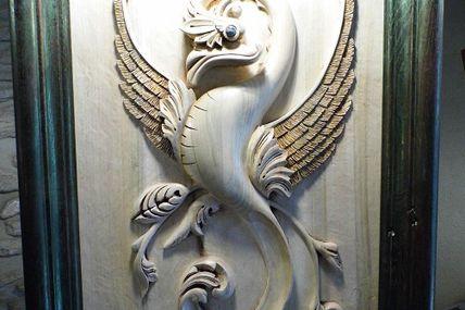 Salon de sculpture sur bois 2013 - les bas reliefs