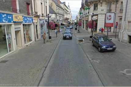 Bourges: Mon cher vélo - rue Moyenne