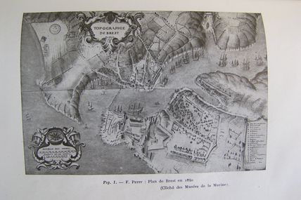 BREST en 1640-PLAN