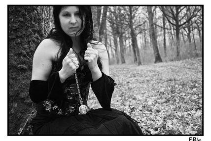 Steampunk et jonquilles en forêt 11bis