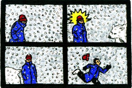 Strip-Comix: L'Hiver Est Bien Là / Winter Is Hier