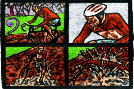 "Strip-Comix: Cyclo-Cross ""Prestige"" De Diegem"