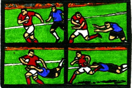 Strip-Comix: Coupe D'Europe De Rugby / H Cup