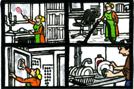 Strip-Comix: Nettoyage De Printemps / Spring Cleaning (2)