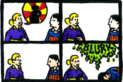 Strip-Comix: L'Annonciation / The Annunciation 2011