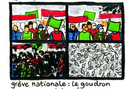 Grève Nationale: Le Goudron Et Les Plumes / National Strike: Tar And Feathers