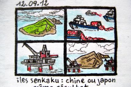 Iles Senkaku: Chine Ou Japon, Même Résultat / Senkaku Island: China Or Japan, Same Result