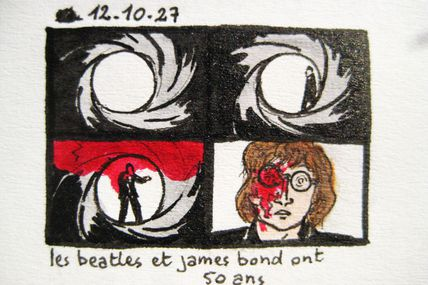 The Beatles vs James Bond: 50 Ans / Years