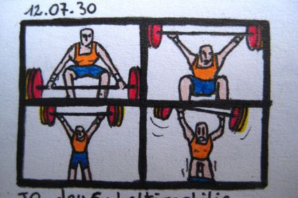Jeux Olympiques: Haltérophilie / Olympics Games: Weight Lifting