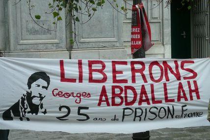 Georges Ibrahim Abdallah : rappel de la décision judiciaire sur son refus de prélevement ADN.