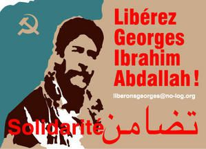Soutien international à Georges Abdallah en images.