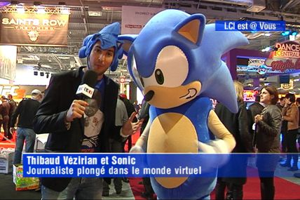 "Visite du Paris Games Week 2011 dans ""OMG La Minute People"""