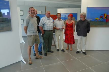 EXPOSITION - St Pierre Eglise ( Memoires en couleurs ) Vernissage