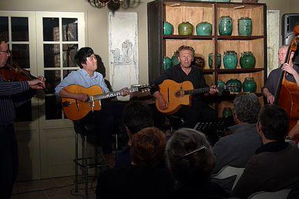 Concerts - Edzo, en concert privé quelque part à Barfleur...