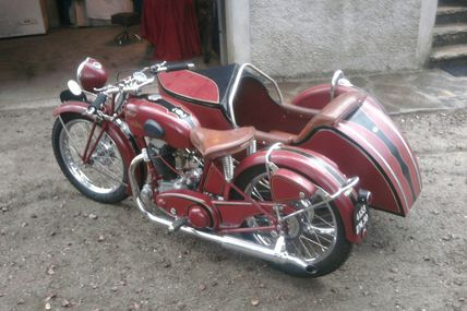 side car bufflier (remontage fini)