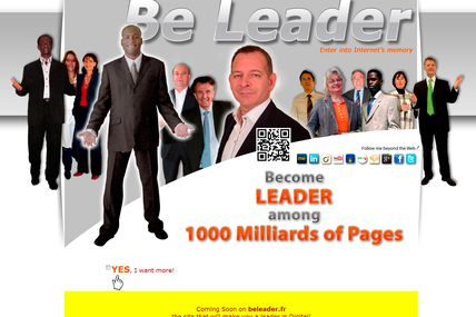 Become Leader among 1000 Milliards of Pages
