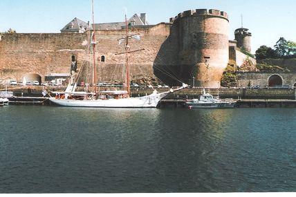 Le château de Brest
