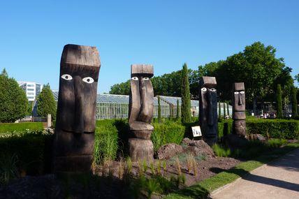 Sculptures au Parc