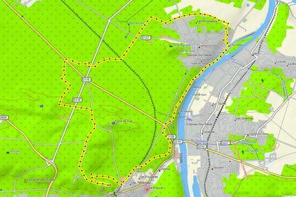 Randonnée en forêt et bord de Seine