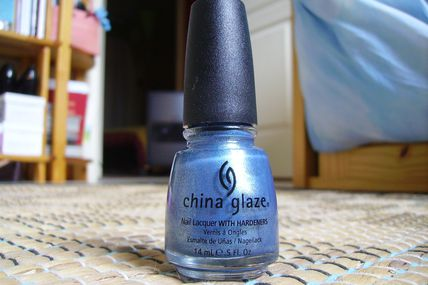 China Glaze - Blue Island Ice Tea