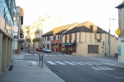 Quartier de la Croix-Verte : le boulevard Mazagran.