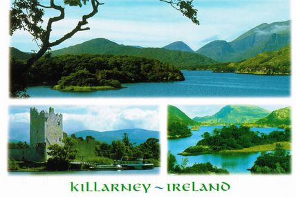 Cartes de vacanciers : l'IRELANDE
