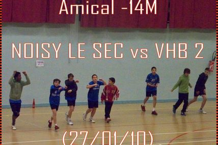 -14M vs NOISY-LE-SEC (Amical)