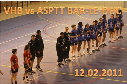 SF1 vs ASPTT BAR-LE-DUC (N2 - 12.02.2011)
