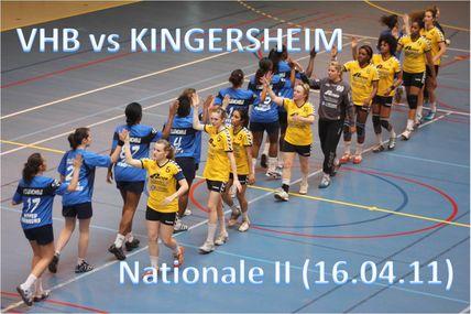 SF1 vs KINGERSHEIM (16.04.2011)