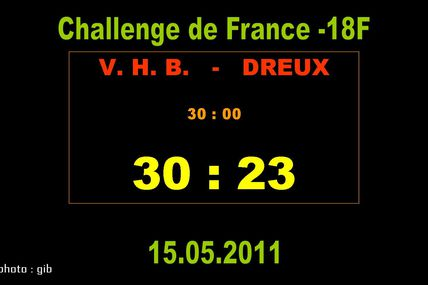 DREUX vs VHB (Challenge de France 2011)