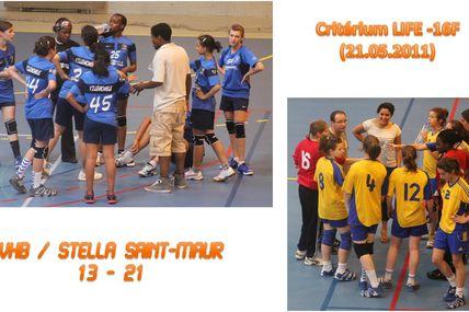 -16F VHB / STELLA SPORTS SAINT-MAUR (LIFE 21.05.2011)