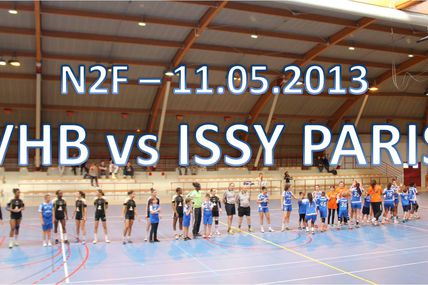 SF1 VHB vs ISSY-PARIS (Championnat de France N2F - 11.05.2013)